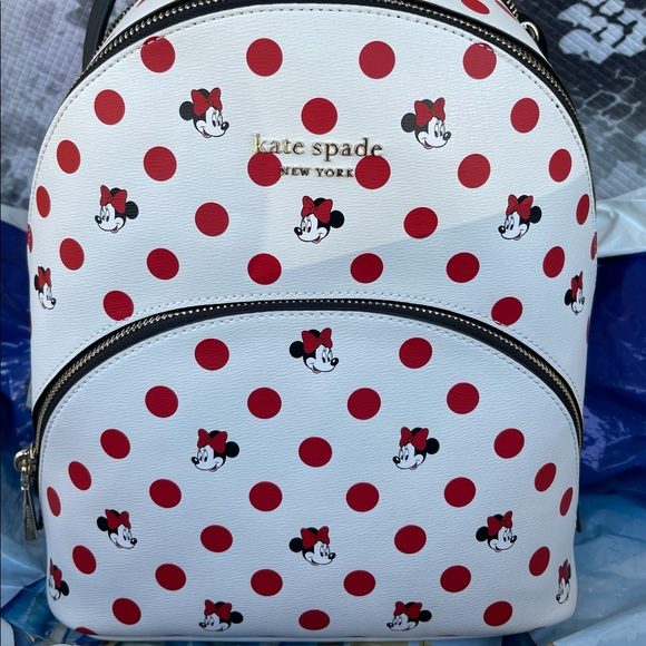 Disney Minnie Mouse Polka Dot backpack by Kate Spade New York